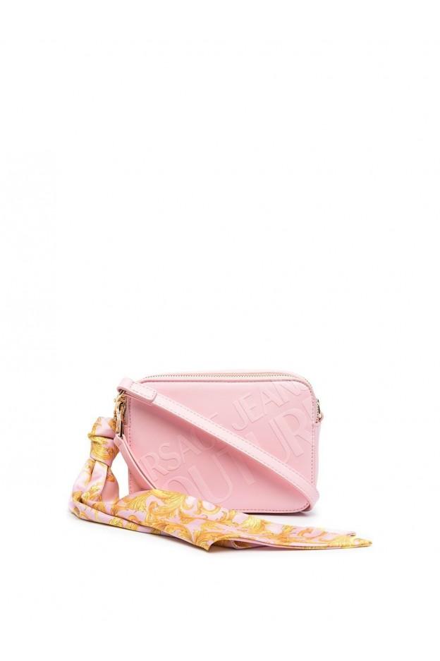 Versace Jeans Couture Logo Print Foulard Camera Bag E1VWABA6 71875 426 PINK - New Season Spring Summer 2021