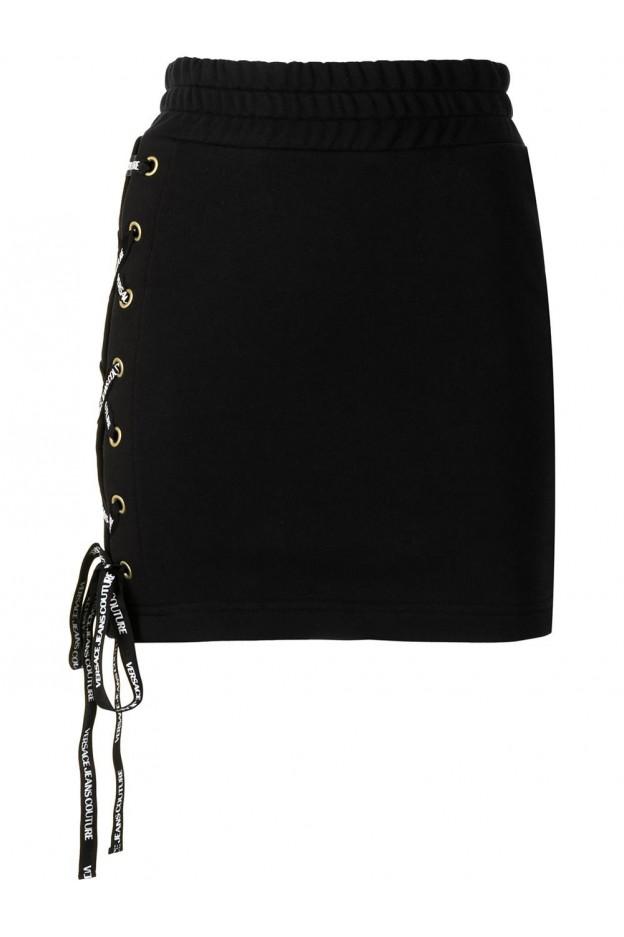 Versace Jeans Couture Minigonna A Vita Alta A9HWA315 13988 899 - Nuova Collezione Primavera Estate 2021