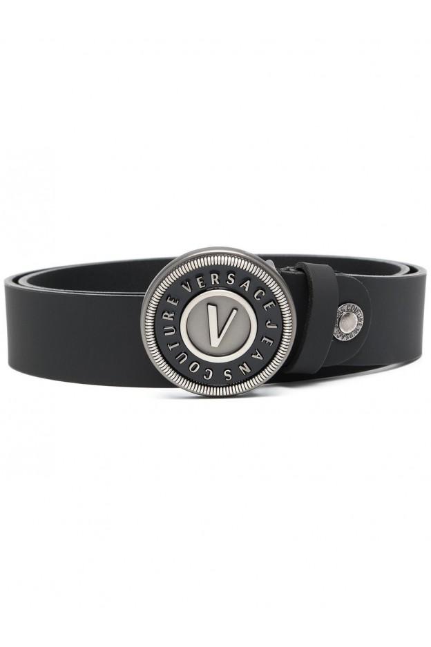Versace Jeans Couture Cintura Con Fibbia D8YWAF14 71632 899 BLACK - Nuova Collezione Primavera Estate 2021