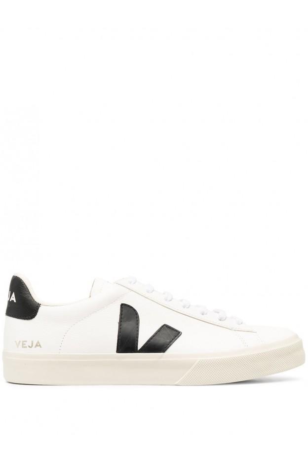 Veja Sneakers Campo CPM051537 WHITE/BLACK - Nuova Collezione Primavera Estate 2021