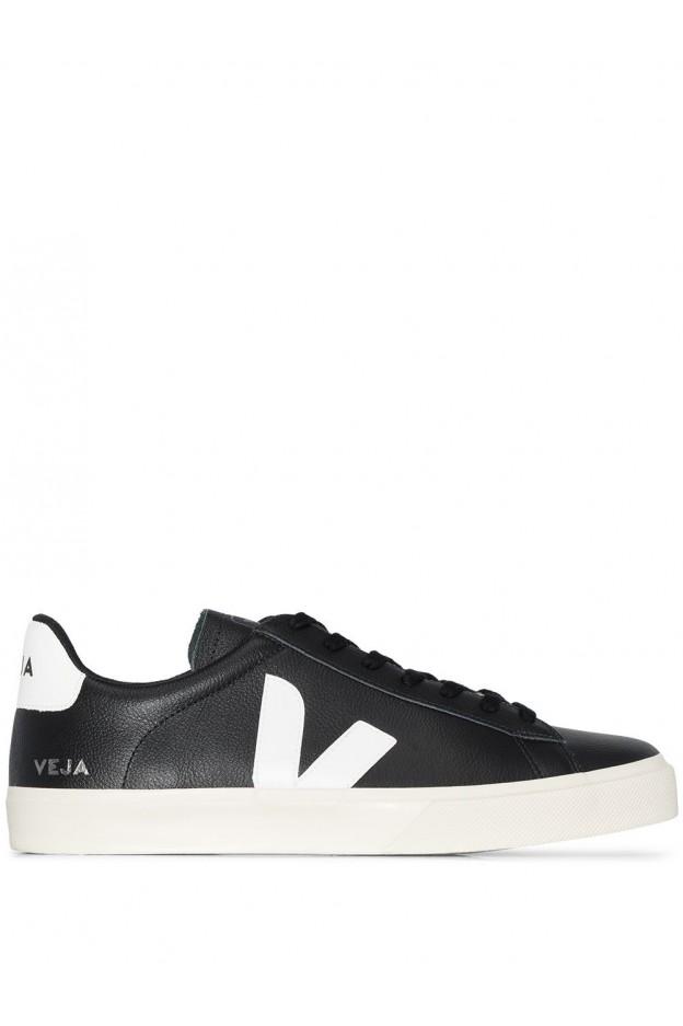 Veja Sneakers Campo Chromefree CPM051215 BLACK WHITE - Nuova Collezione Primavera Estate 2021