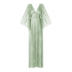 Maria Lucia Hohan Dress Alma Maxi Foil