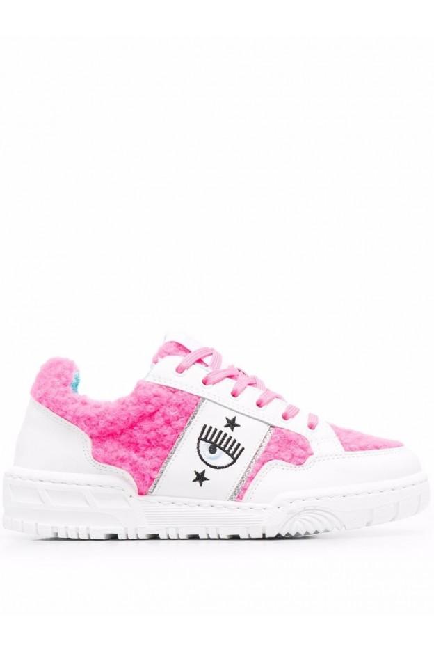 Chiara Ferragni Sneakers Con Logo CF2831065 WHITE - Nuova Collezione Autunno Inverno 2021 - 2022