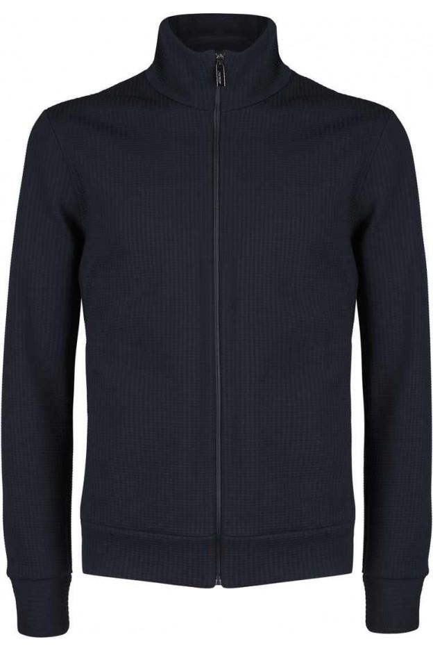 RRD - Roberto Ricci Designs Fleece 3d Full Zip W21165 60 BLUE BLACK
