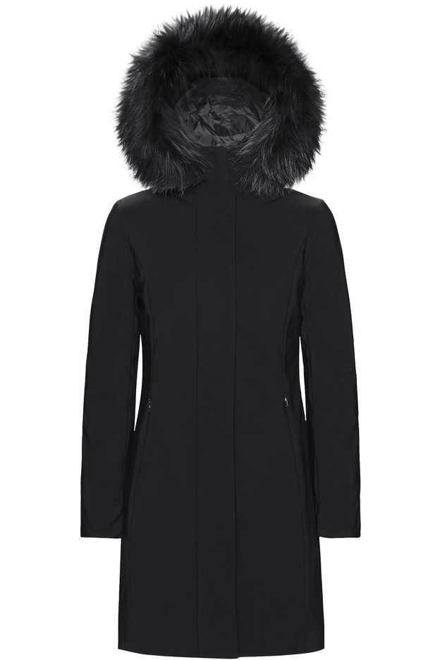 RRD - Roberto Ricci Designs Winter Long Lady Fur W21501FT 10 Black