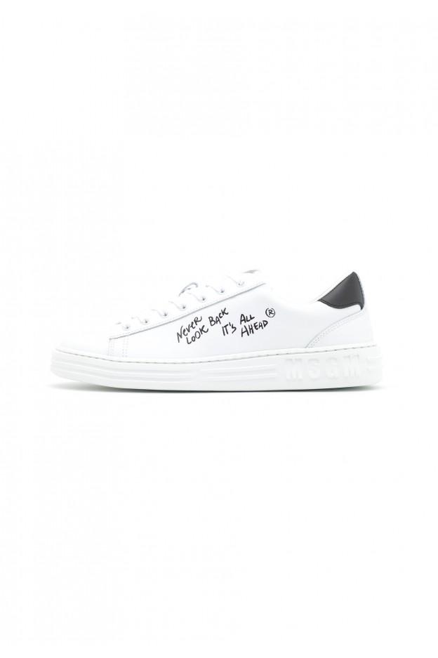 MSGM Sneakers Basse MG612O016-A11 white