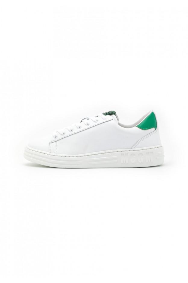 MSGM Sneakers Basse MG612O017-A13 green optic white