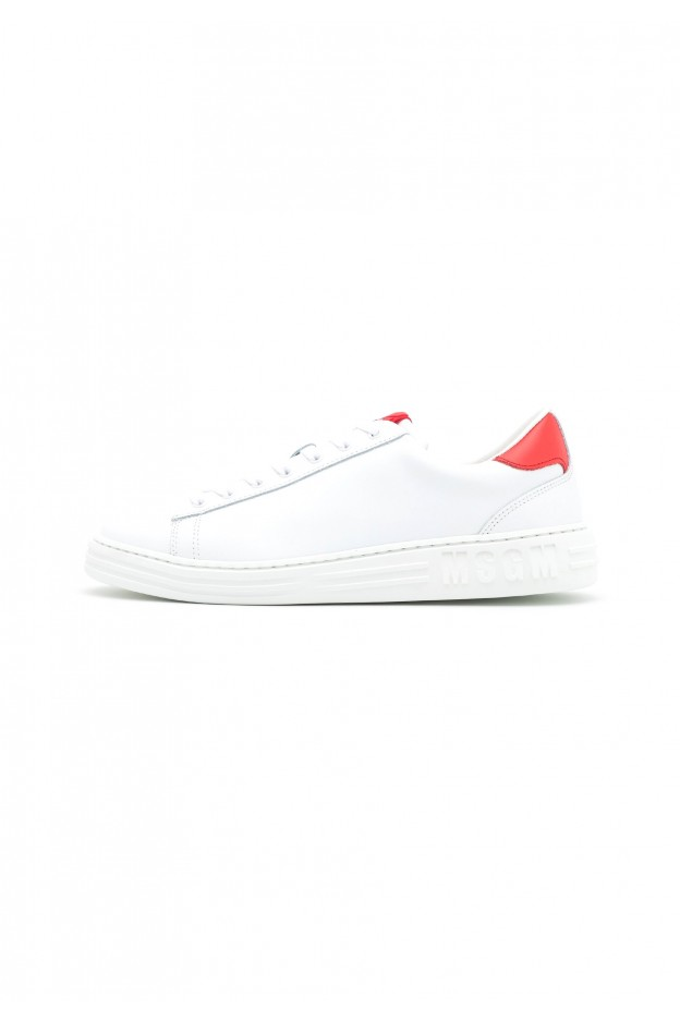 MSGM Sneakers Basse MG612O017-A11 red white