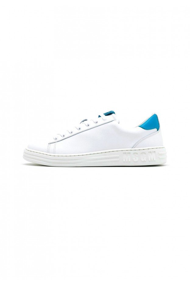 MSGM Sneakers Basse MG612O017-A12 turquoise white