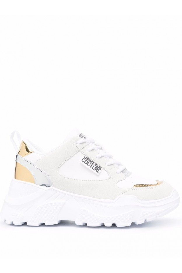 Versace Jeans Couture Speedtrack Low-Top Sneakers 71VA3SC2 ZP002 003 - New Season Fall Winter 2021 - 2022