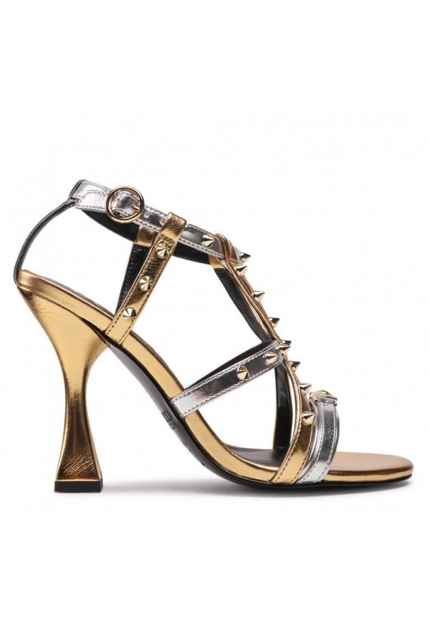 Versace Jeans Couture Sandali Con Decorazione 71VA3S15 ZS000 OF7 Oro - Nuova Collezione Autunno Inverno 2021 - 2022