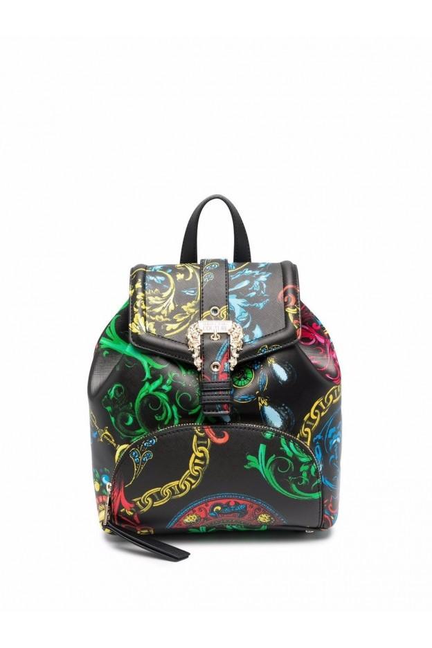 Versace Jeans Couture Zaino Barocco Con Stampa 71VA4BF8 71880 899 - Nuova Collezione Autunno Inverno 2021 - 2022