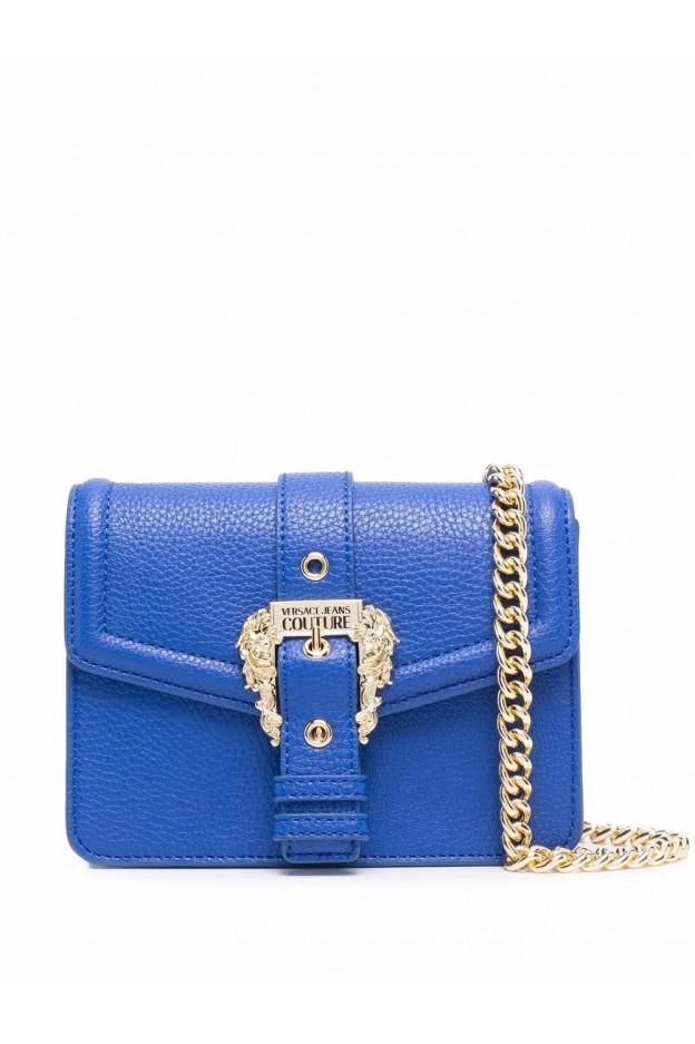 Versace Jeans Couture Borsa A Spalla Con Fibbia 71VA4BF6 71578 243 MIDNIGHT - Nuova Collezione Autunno Inverno 2021 - 2022