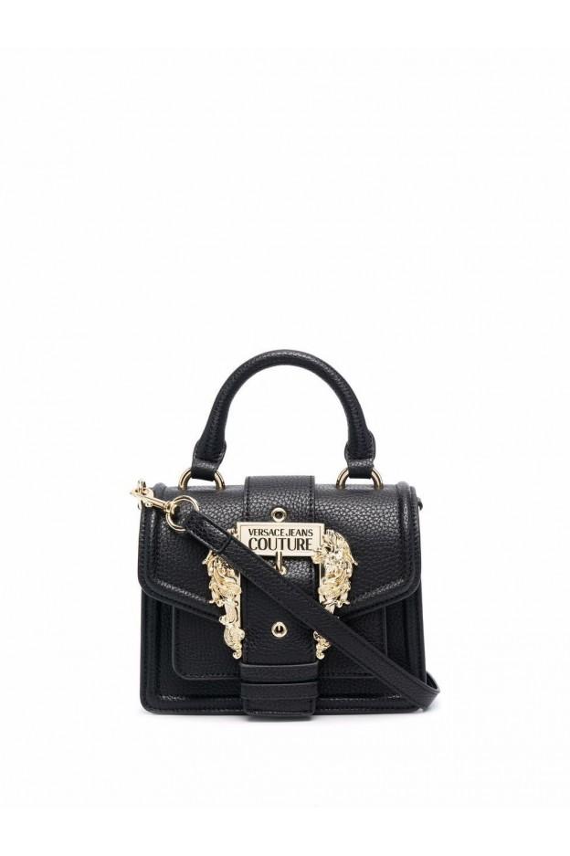 Versace Jeans Couture Borsa Tote Couture I Mini 71VA4BF3 71578 999 BLACK - Nuova Collezione Autunno Inverno 2021 - 2022