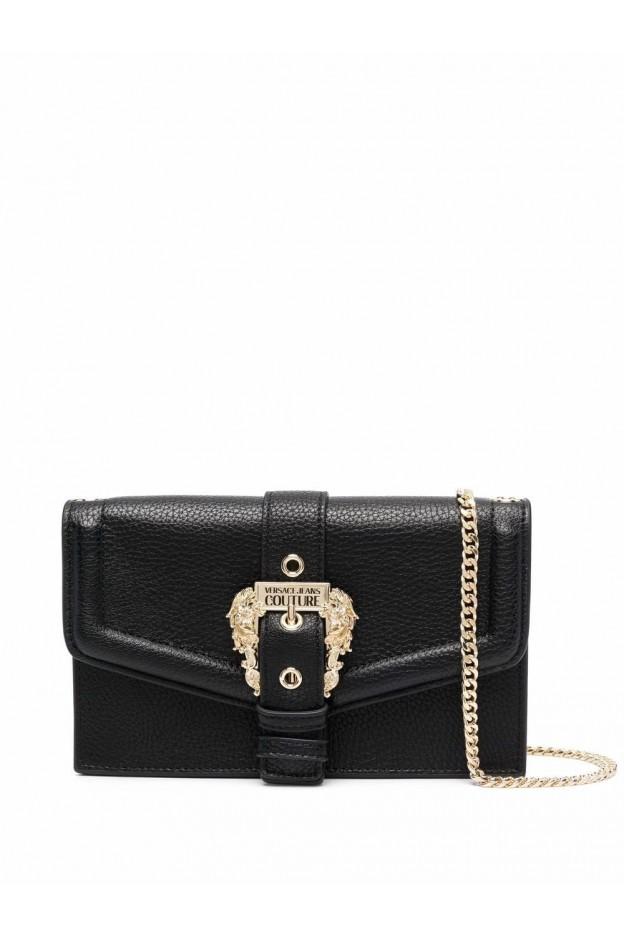 Versace Jeans Couture Borsa A Tracolla Con Fibbia 71VA5PF6 71578 899 BLACK  - Nuova Collezione Autunno Inverno 2021 - 2022