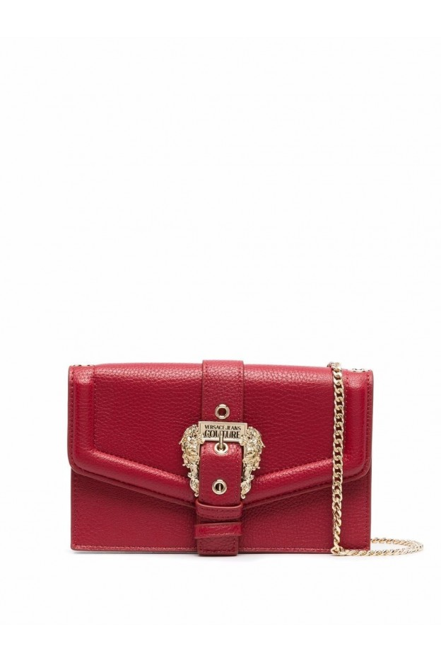Versace Jeans Couture Borsa A Tracolla Con Fibbia 71VA5PF6 71578 523 BLOOD - Nuova Collezione Autunno Inverno 2021 - 2022