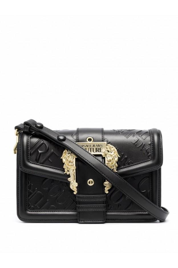 Versace Jeans Couture Borsa A Tracolla Con Fibbia Barocca 71VA4BF1 ZS075 899 BLACK - Nuova Collezione Autunno Inverno 2021 - 202