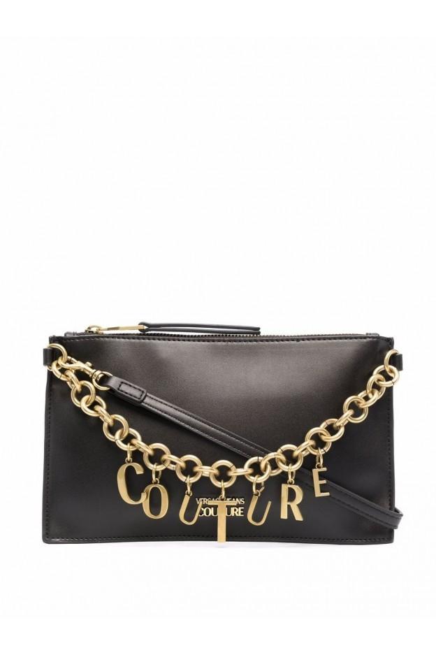 Versace Jeans Couture Clutch Con Catena 71VA4BCX ZS063 899 BLACK - Nuova Collezione Autunno Inverno 2021 - 2022