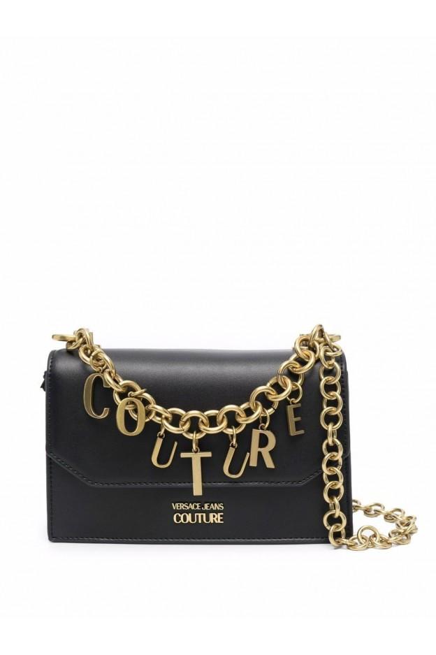 Versace Jeans Couture Borsa A Tracolla Couture 71VA4BC1 ZS063 899 BLACK - Nuova Collezione Autunno Inverno 2021 - 2022