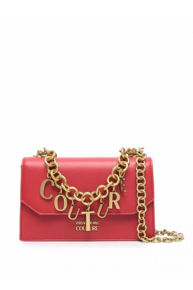 Versace Jeans Couture Borsa A Tracolla Con Logo 71VA4BC1 ZS063 500 RED - Nuova Collezione Autunno Inverno 2021 - 2022