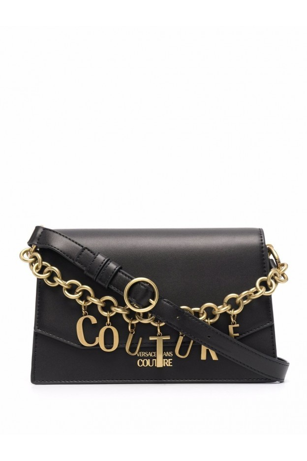 Versace Jeans Couture Borsa A Spalla In Finta Pelle  71VA4BC4 ZS063 899 BLACK - Nuova Collezione Autunno Inverno 2021 - 2022