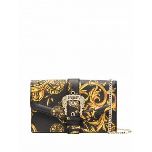 Versace Jeans Couture Barocco-Print Crossbody Bag
