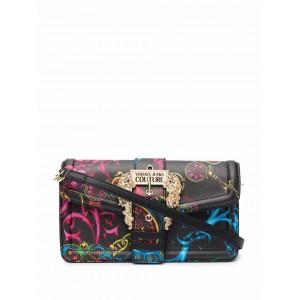 Versace Jeans Couture Logo-Print Shoulder Bag