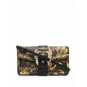 Versace Jeans Couture Barocco-Print Shoulder Bag