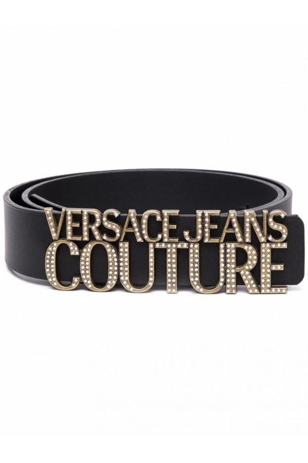Versace Jeans Couture Cintura Con Placca Logo 71VA6F15 71627 899 BLACK