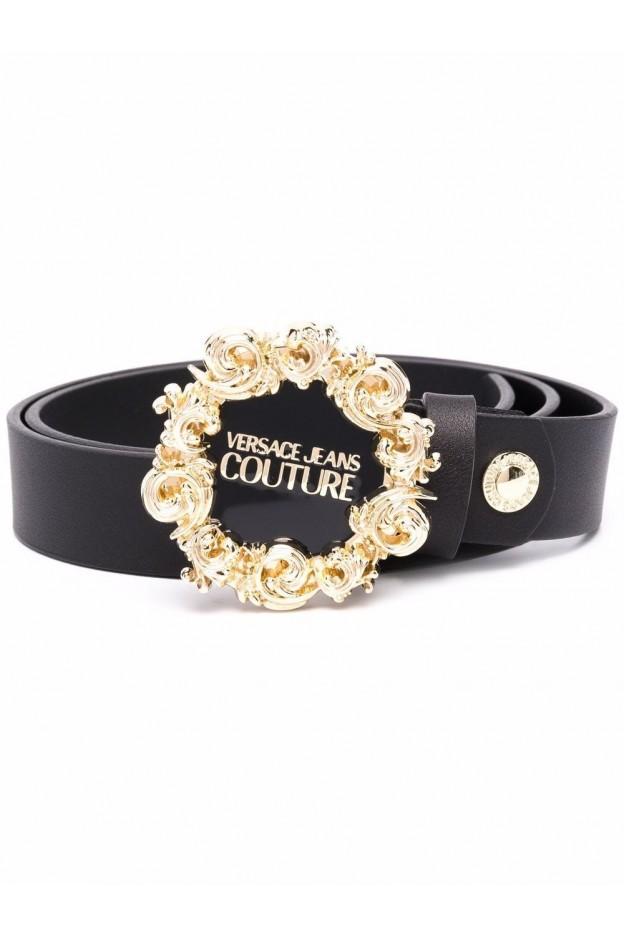 Versace Jeans Couture Cintura Con Placca Logo 71VA6F30 71627 899 BLACK