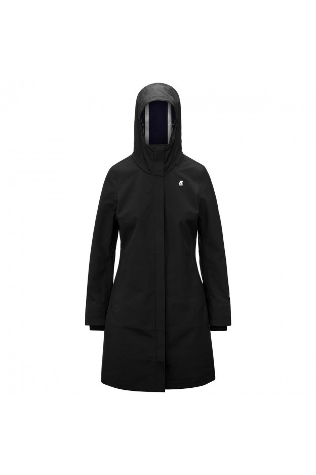 K-Way Stephy Bonded K41157W A1I Black - Donna - autunno inverno 2021 - 2022