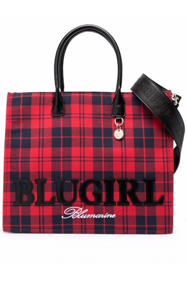 Blugirl Blumarine Borsa Tote Reversibile 713B4BN1ZG058 OM4