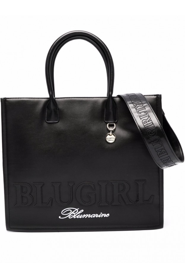 Blugirl Blumarine Borsa Tote Reversibile 713B4BN1ZG061 899 BLACK