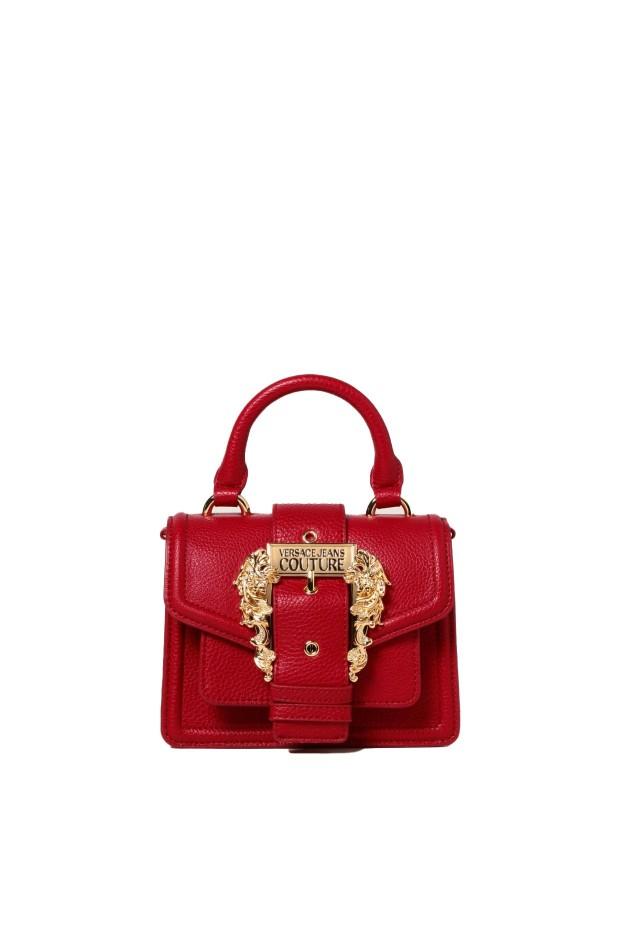 Versace Jeans Couture Borsa in pelle sintetica martellata rosso 71VA4BF3 71578 523 autunno inverno 2021 2022