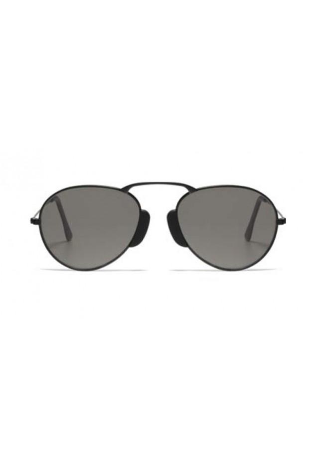 L.G.R. Agadir Sunblasses Black Matt 22 / Grey