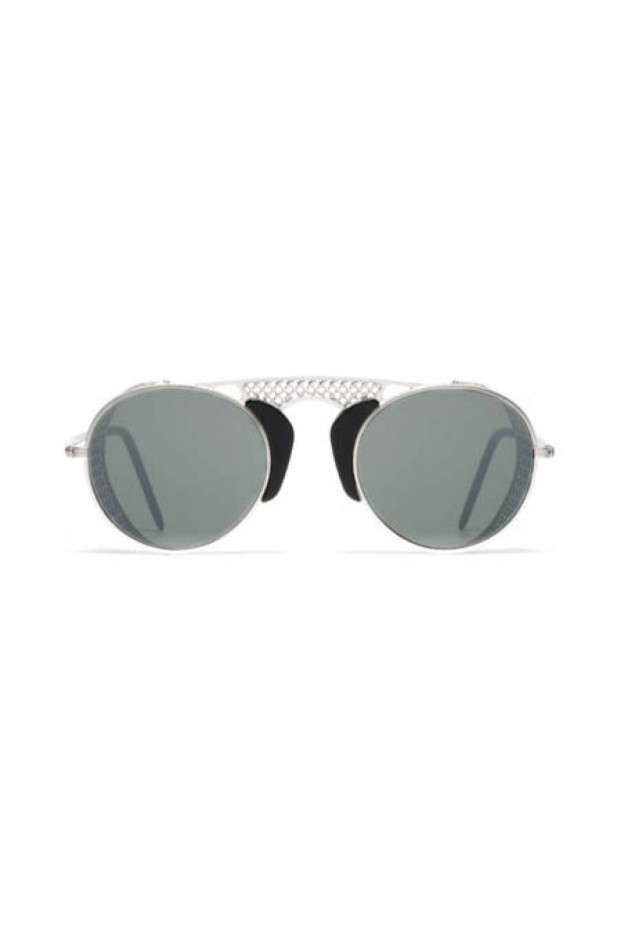 L.G.R. Occhiali Albatros Silver Matt 00 / Flat Silver Mirror